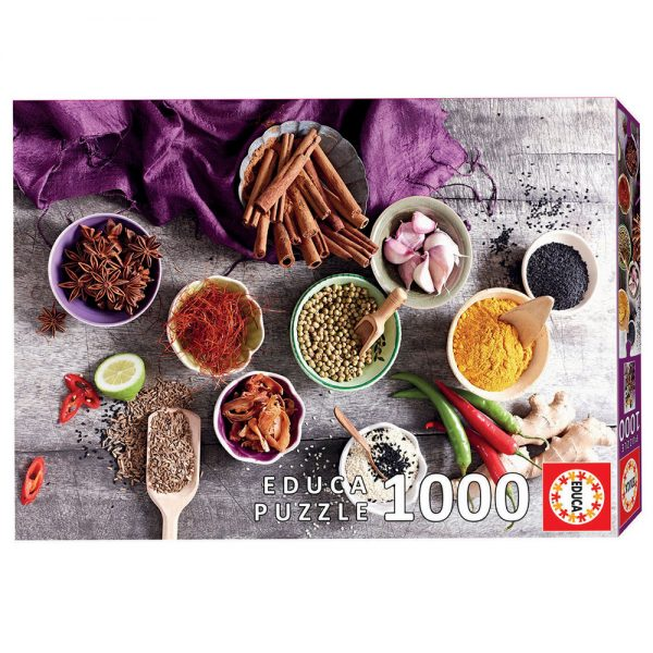17974 educa puzzle Assorted Spices 1000pcs grammibookshop