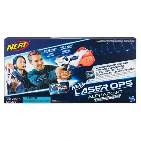 Hasbro Nerf Laser Ops Pro alphaPoint 2 Pack E2281 grammibookshop