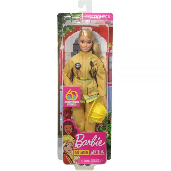 Mattel Barbie 60th Anniversary Careers Dolls Limited Edition firefighter grammibookshop
