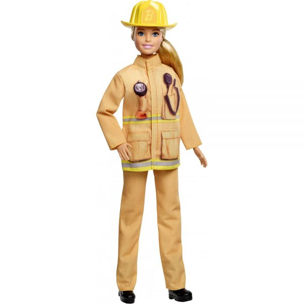 Mattel Barbie 60th Anniversary Careers Dolls Limited Edition firefighter grammibookshop 1