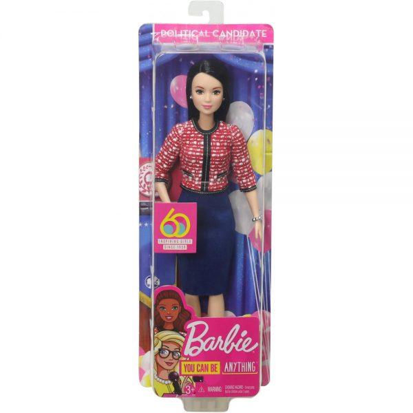 Mattel Barbie 60th Anniversary Careers Dolls Limited Edition politician grammibookshop