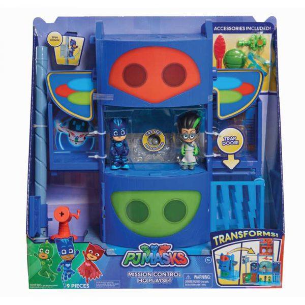 PJ Masks Mission Control HQ Playset grammibookshop