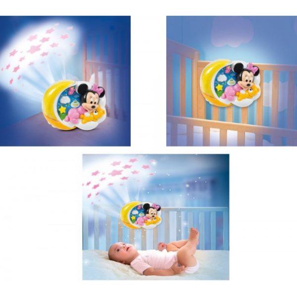 clementoni baby minnie magical stars projector grammibookshop
