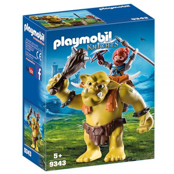 playmobil knights gigantio troll me polemisti grammibookshop