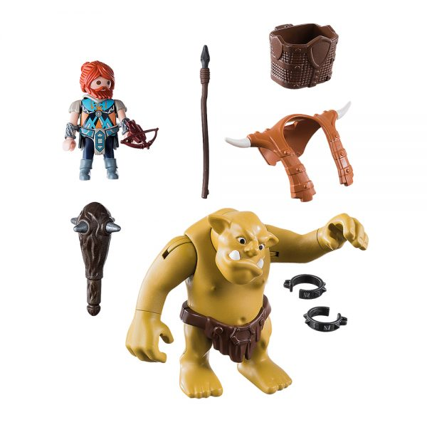 playmobil knights gigantio troll me polemisti grammibookshop 1