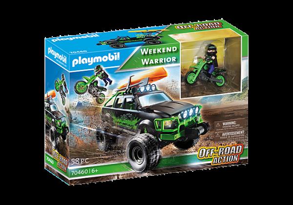 Αγωνιστικό αυτοκίνητο και μηχανή ανωμάλου εδάφους