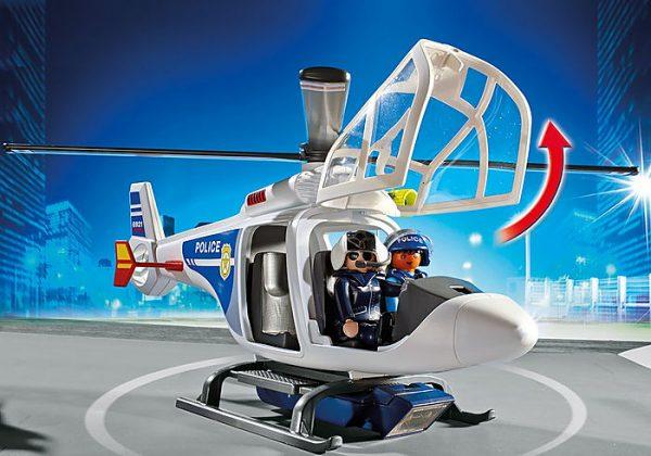 Ελικόπτερο Αστυνομίας με προβολέα LED 2