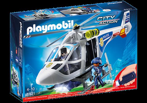 Ελικόπτερο Αστυνομίας με προβολέα LED