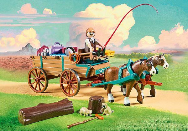 Ο πατέρας της Λάκυ με την άμαξά του 1