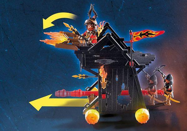 Πολιορκητική μηχανή φωτιάς του Μπέρναμ 1