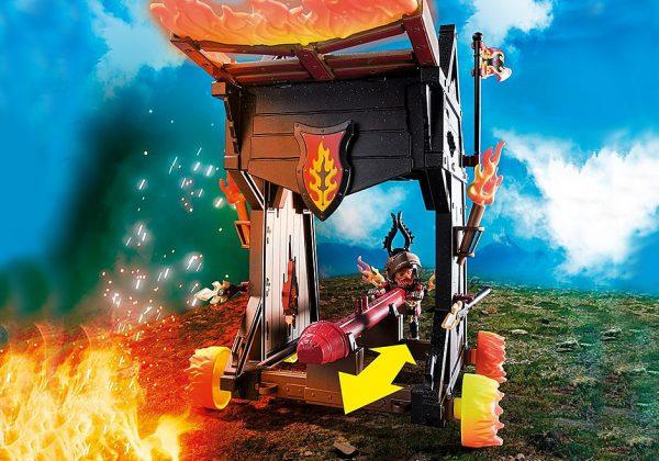 Πολιορκητική μηχανή φωτιάς του Μπέρναμ