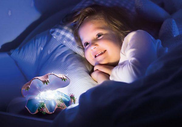 Φωτιζόμενο Κοχύλι Μαργαριταριών
