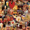 Educa Puzzle Vintage Beer Collage 1000pcs 17970 grammibookshop 1
