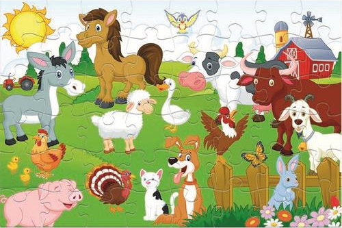 farm animals 48pcs 0621470 luna puzzle grammibookshop 1