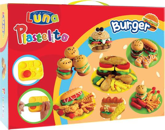 luna burger set plastelini grammibookshop