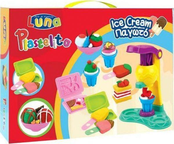 luna ice cream set plastelini grammibookshop