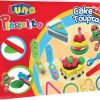 luna party cake set plastelini grammibookshop
