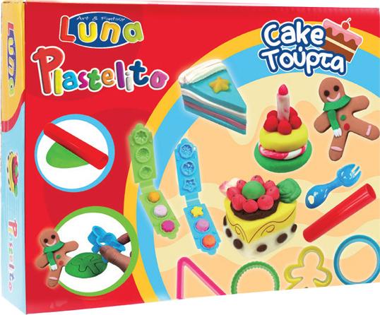 luna party cake set plastelini grammibookshop