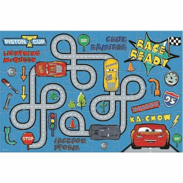 puzzle chromatismou cars 48pcs luna grammibookshop 1