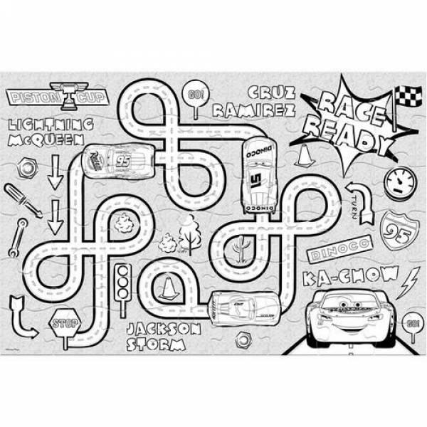 puzzle chromatismou cars 48pcs luna grammibookshop 2