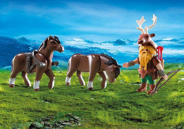Βαλλίστρα Νάνων με άλογα Πόνυ 1