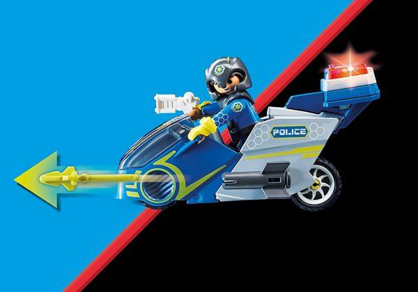 Μοτοσικλέτα Galaxy Police 1