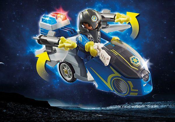 Μοτοσικλέτα Galaxy Police
