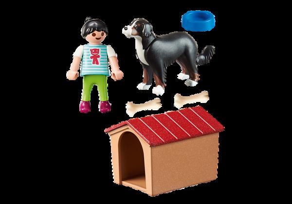 Παιδάκι με σκύλο 1