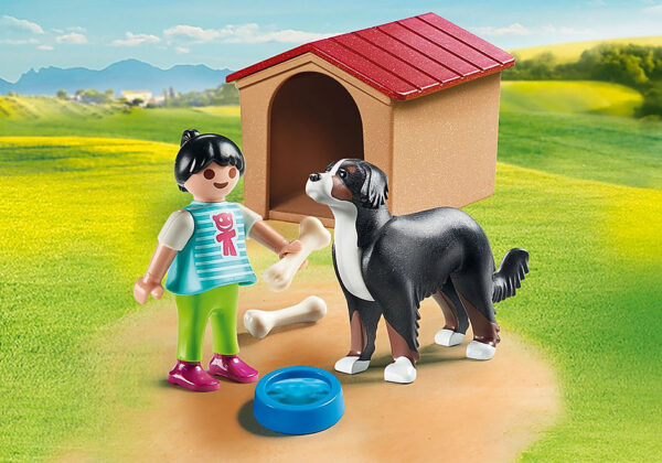 Παιδάκι με σκύλο