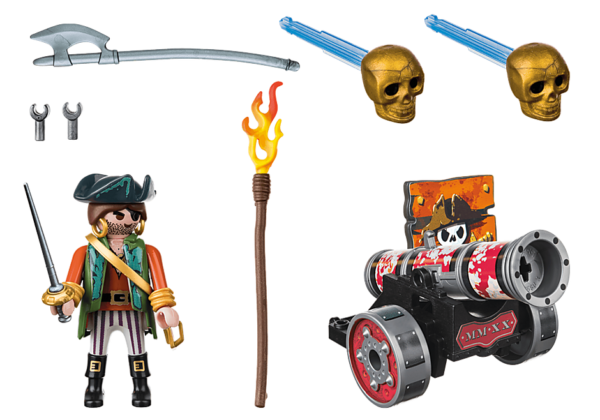 Πειρατής με κανόνι 1