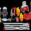 Πυροσβέστες με αντλία νερού 1