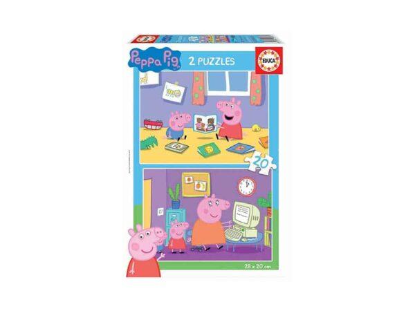 puzzle peppa 18087