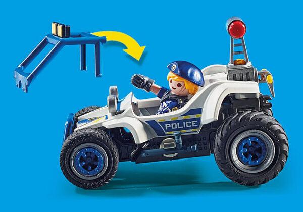 Αστυνομική καταδίωξη off road 1